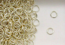 925 Sterling Silver 6mm Closed Jump Rings, Choice of Lot Size & Price