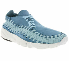 new NIKE Air Footscape Woven NM Shoes Men's Sneakers Sneakers Blue 875797 002