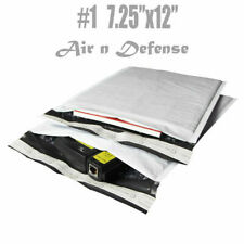 #1 7.25x12 Poly Bubble Mailers Padded Envelopes Bags Self Seal AirnDefense