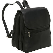 Le Donne Leather Everything Womans Backpack/Purse 3 Colors Backpack Handbag NEW
