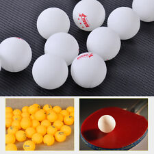 100pcs White Orange 3-Stars 40mm Olympic Ping Pong Table Tennis Ball competition