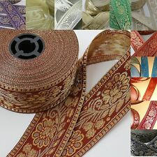 Borders in various Colours, Sari ribbon, Oriental border, Band Bands, Sew