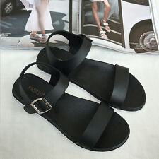 Hot Women Gladiator Sandals Shoes Thong Flops T Strap Flip Flat Size Strappy Toe