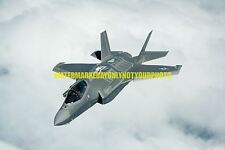 USAF Air Force  F-35A Lightning II  Fighter Photo Military Color F 35 Aircraft