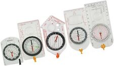 Compass Base Plate Rotating Bezel Dial Scales Ruler Index Lines Lanyard Explorer