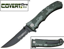 """Camo """"Covert Ops"""" Assisted Opening Pocket Knife"""
