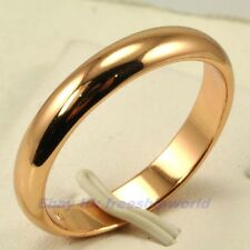 Size 9.5,10,10.5,11 Ring,REAL SLIPPERY 18K ROSE GOLD GP SOLID FILL RRP $20 4844r