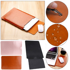 """Faux PU Leather Sleeve Case Laptop Bag For Apple MacBook Air Pro 11"""" 12"""" 13"""""""