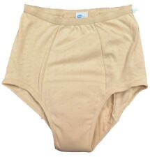 """Wearever Washable Super Cotton Urinary Incontinence Panty for Women, """"BEIGE"""""""