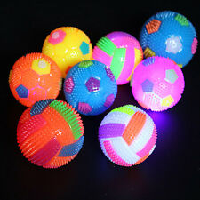 Light Up LED Glow Volleyball Bouncing Massage Bouncing Hedgehog Ball Toy Gift