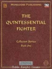 Mongoose d20 RPG Quintessential Fighter, The (Revised and Expanded) SC NM-