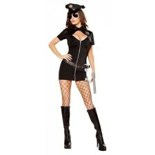 Police Woman Costume Adult Sexy Officer Dirty Cop Halloween Fancy Dress