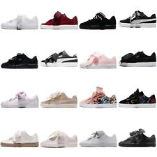 Puma Basket Heart Wns Bows Women Classic Fashion Shoes Sneakers Pick 1