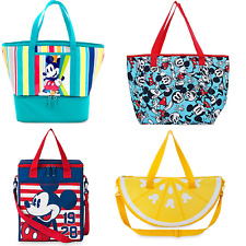 Disney Store Mickey Mouse Summer Fun Cooler Bag Lunch Tote New