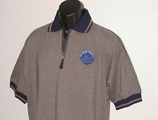 Vintage 90's New York NY METS PRO PLAYER Polo SHIRT Sewn Logo NWT New Old Stock