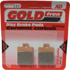 Front Disc Brake Pads for Piaggio Zip 125 2004 125cc  By GOLDfren
