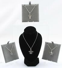 Sterling Silver Toucan Angels & Stars Pendant & Necklaces various Styles