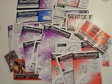 Transformers Robots in Disguise Action Figure Parts Instructions Books Catalogs