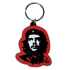 Official Che Guevara Red Keyring - Gift Rubber Keychain Keys - Brand New