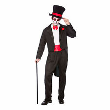 Day of the Dead Senor Halloween Mexican Horror Fancy Dress Up Party Costume New