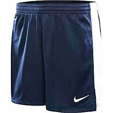 Nike Dri Fit Stay Cool Women's Soccer Shorts Dark Blue/ White Trim Xs Or M NWT