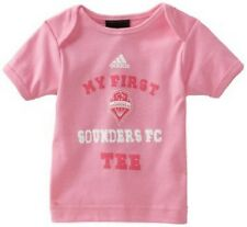 Seattle Sounders My First Sounders MLS pink t-shirt NWT soccer new with tags