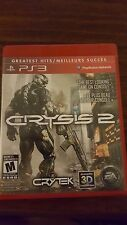 Crysis 2 Limited Edition Sony PlayStation 3 2011 PS3 Complete Excellent
