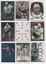 Los Angeles Kings BLOWOUT Lot #1 - Serial #'d - Rookies - JERSEY - AUTO - U-PICK