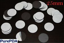 Circle Round Self Adhesive Magnets for Fridge Photos Invitations Post (25mm)