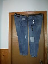 Gap Sexy Boyfriend Jean Pants size 12,10, Light Indigo Blue 4 pockets NWT