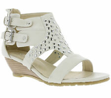NEW Andrea Conti Shoes Clasp Ladies Ankle-strap sandal wedge Beige 0613209