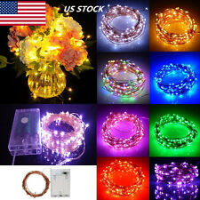 Copper Wire AA Battery Fairy String Light Christmas Wedding Party Decor US STOCK