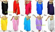 Hot! Brand New Sexy Belly Dance Ears Skirt 10 Colors Available Free Shipping