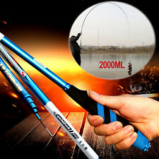 2.7m-7.2m Pro Full Carbon Fiber Ultra-light Hard 28 Stream Hand Fishing Rod Pole