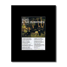 ECHO AND THE BUNNYMEN - UK Tour 1998 Mini Poster