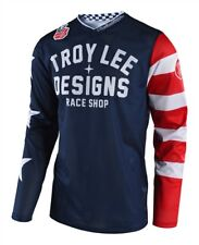 Troy Lee Designs 2018 GP Air Americana Navy Race Jersey Shirt Motocross