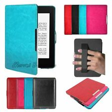 Slim Ultra Magnetic Leather Smart Case Cover for Amazon Kindle Paperwhite 1 2 3