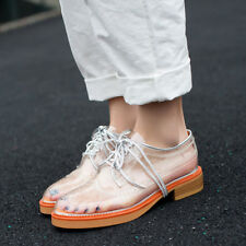 Women's Classic British style Transparent Personality Simple Fashion Shoes New
