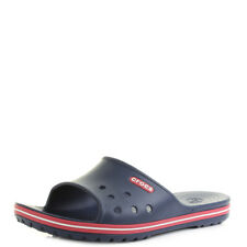 Mens Crocs Crocband 2 Slide Navy Pepper Slider Sandals Flip Flops UK Size