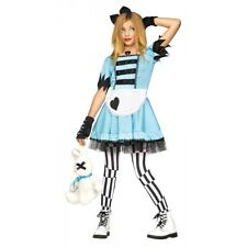 Alice in Wonderland Costume Kids Halloween Fancy Dress