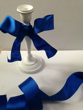 A Right Royal Blue Wedding - Luxury Wire Edge Edged Ribbon - var lengths REDUCED