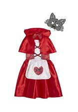 BNWT Little Red Riding fancy dress costume size 7/8  years