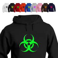 Biohazard Techno Party Rave Hoodie All Size/Colours