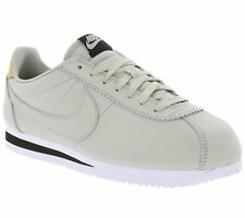 NEW NIKE Classic Cortez Leather SE Real Leather Sneaker Trainers Grey 861535 005