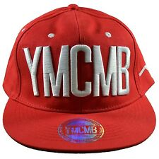 YMCMB - SNAPBACK CAP - ADJUSTABLE SIZE - RED WHITE NEW