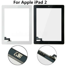 For Apple iPad 2 Touch Screen Digitizer Glass Lens Panel With Home Key&Back Glue