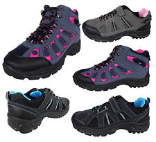 Ladies Walking Hiking Boot Trainer Trail Boots Shoes Rugged Trainers Shoe Womens