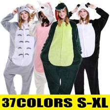 Unisex Adult Pajamas Kigurumi Cosplay Costume Animal Sleepwear Jumpsuit Bodysuit