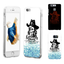 Cool Skull Pirate Phone Case Cover for iPhone 6 Samsung S4 Huawei Mate Striking