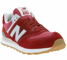 New New Balance 574 Shoes Men's Sneakers Sneakers Casual Shoes Red ML574HRT